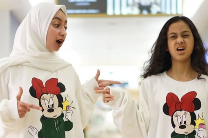 Anak presenter Ramzi, Asila Maisa dan sang Mama, Avi Basalamah