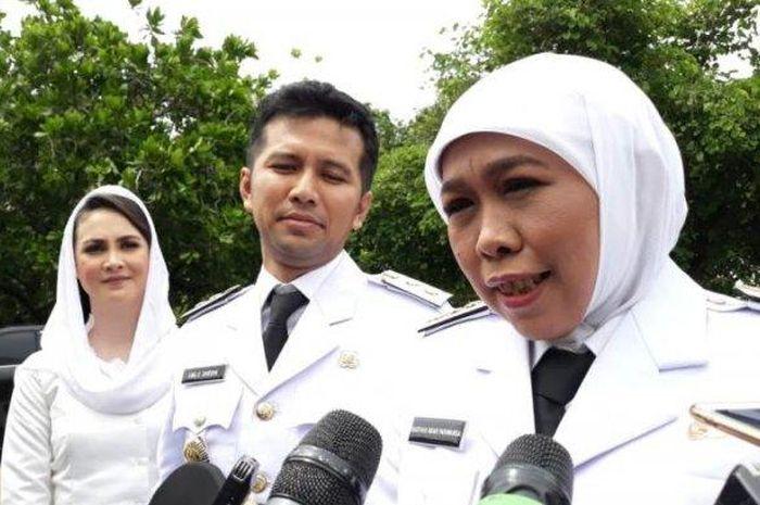 Khofifah Indar Parawansa dan Emil Dardar Resmi Jadi Gubernur Jawa Timur