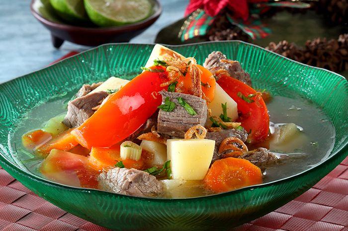 Kuliner sup daging untuk Idul Adha 2020