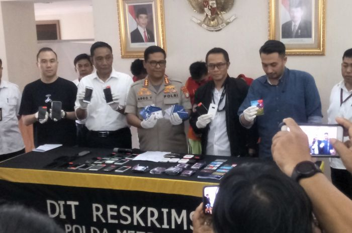 Sindikat pelaku order fiktif yang ditangkap dan ditindak secara hukum oleh Polda Metro Jaya.