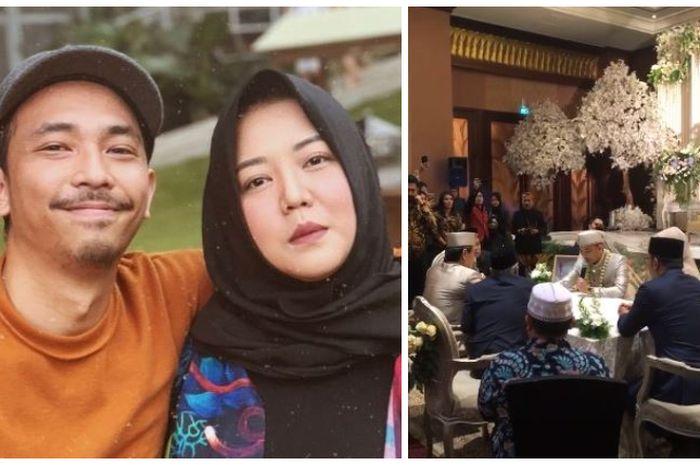 Risa Saraswati resmi menikah dengan  Dimas Tri Aditiyo