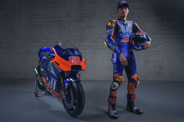 Hafizh Syahrin pas launching tim bersamaan dapat penghargaan jadi insan motorsport terbaik Malaysis