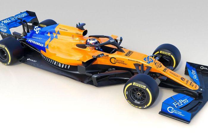 McLaren MCL34 telah resmi dilucurkan pada kamis (14/2/2019)