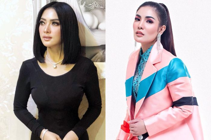 Pakai tas yang sama, ini beda gaya Syahrini dan Nindy Ayunda, siapa favoritmu?