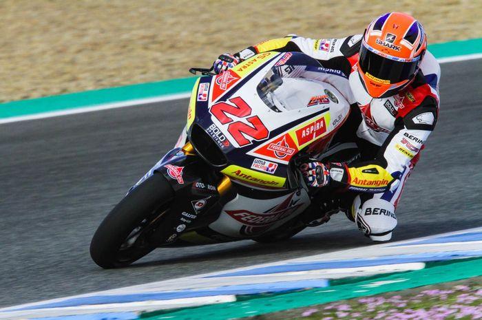 Sam Lowes di tim 'asal' Indonesia di Moto2 berhasil jadi tercepat di tes privat Moto2 Jerez, (12/2/2019)