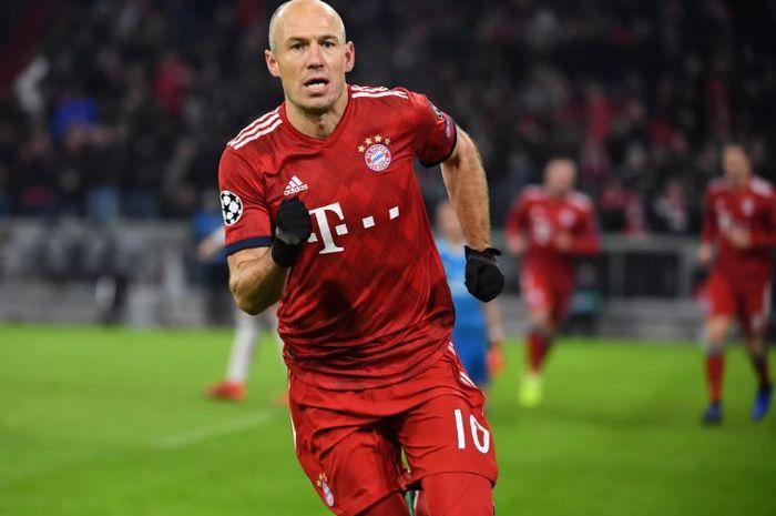"""Pemain veteran Bayern Muenchen, Arjen Robben mengatakan Anfield adalah """"stadion terburuk"""" jelang pertandingan leg pertama babak 16 besar Liga Champions melawan Liverpool."""