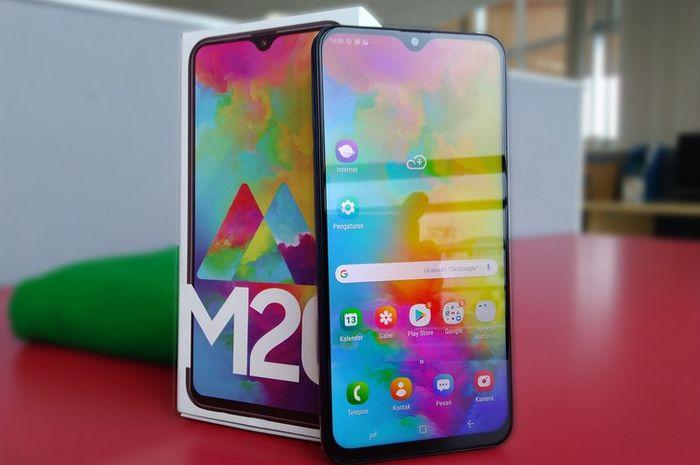 REVIEW Samsung Galaxy M20, Baterai Paling Irit di Kelas Rp 2 Jutaan