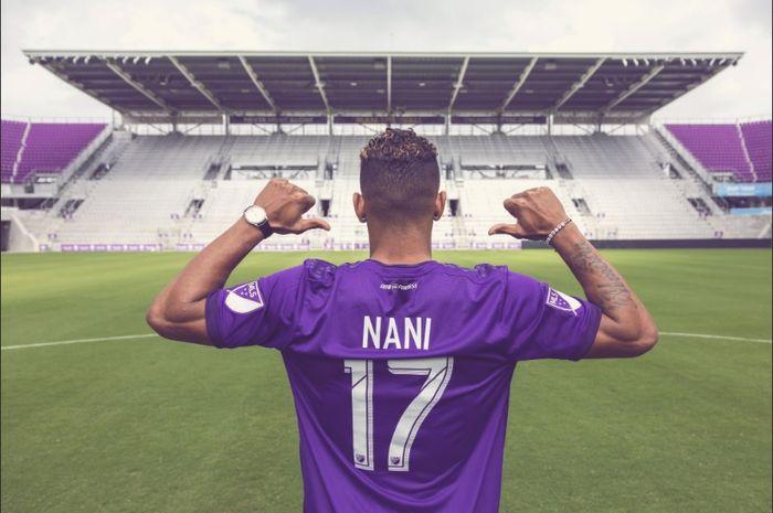 Mantan pemain sayap Manchester United, Luis Nani, bergabung dengan Orlando City dengan status bebas transfer.