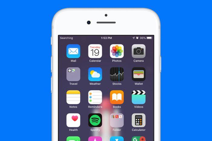 Apakah iPhone atau iPad (Wi-Fi + Cellular) yang kamu gunakan menampilkan  error No Service atau Searching di bagian Statu Bar kiri atas  018617f8f5