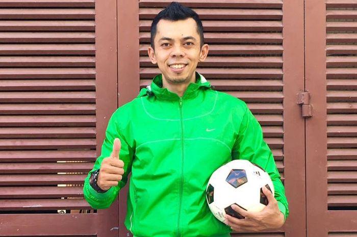 Herry Kristianto, pelatih futsal dan sepak bola Indonesia yang memilih karier sejak 2014 di Kamboja.