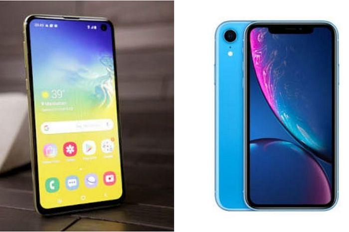 Samsung Galaxy S10e vs iPhone XR, Sama-Sama Varian Termurah Bagus Mana?