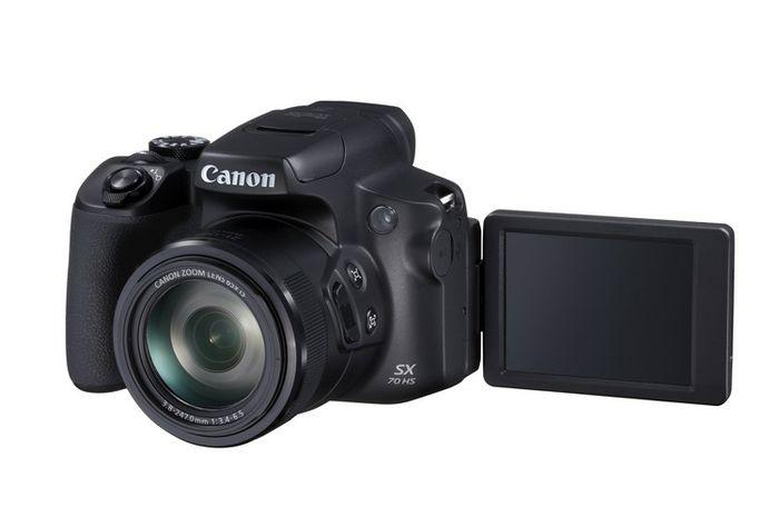 Canon PowerShot SX70 HS, Kamera Ringkas Berteknologi 4K dengan Optical Zoom 65x