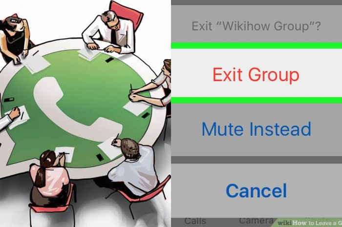 Begini Cara Keluar Grup Whatsapp Tanpa Ketahuan Jika Sudah Merasa