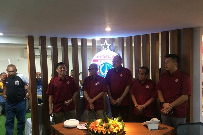 Peresmian kantor baru Persija Jakarta