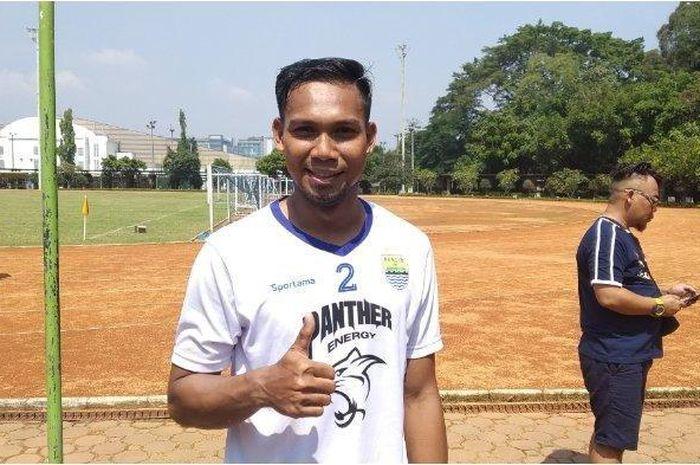Saepuloh Maulana, saat masih bergabung dengan Persib Bandung.