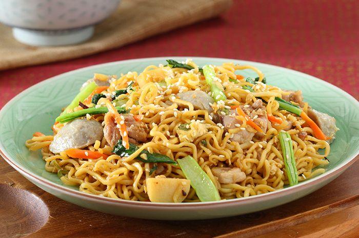 Resep Mie Goreng Oriental Yang Enak Dan Sederhana Bisa Disajikan