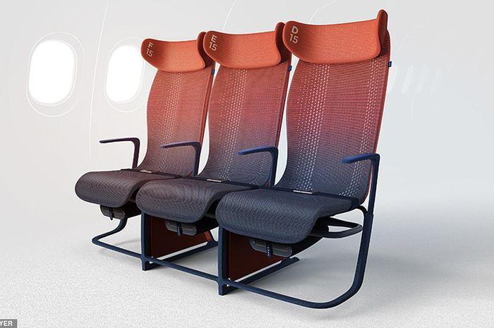 Model kursi pesawat