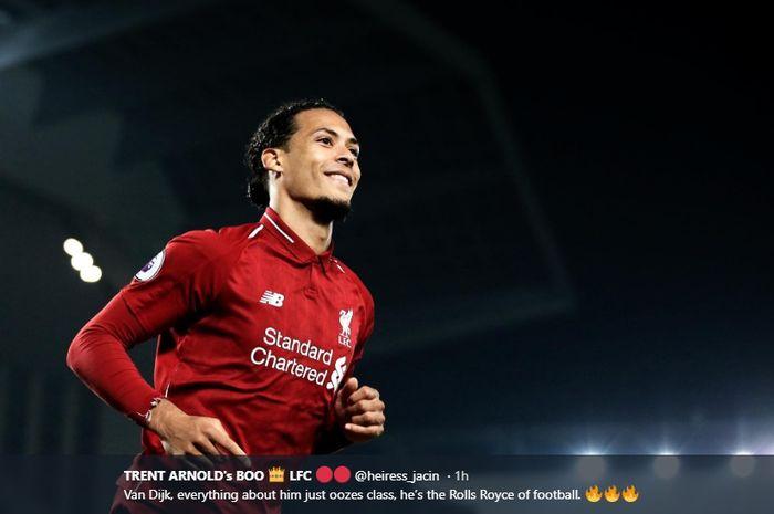 Bek tengah Liverpool, Virgil van Dijk