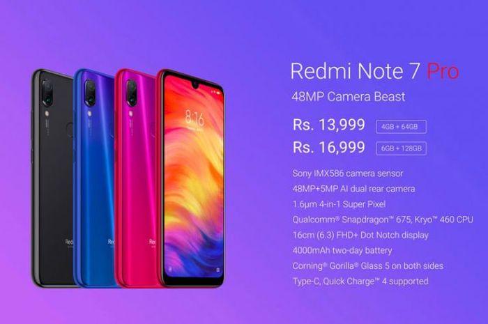 Xiaomi Resmi Luncurkan Redmi Note 7 Pro Ini Harga Dan Spesifikasinya Semua Halaman Info Komputer