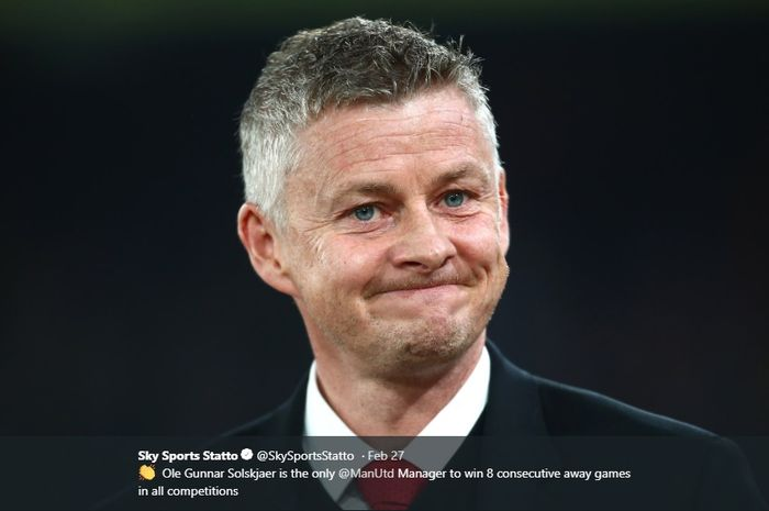 Pelatih interim Manchester United, Ole Gunnar Solskjaer