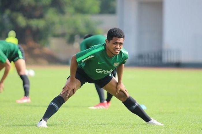 Pemain timnas U-23 Indonesia, Billy Keraf