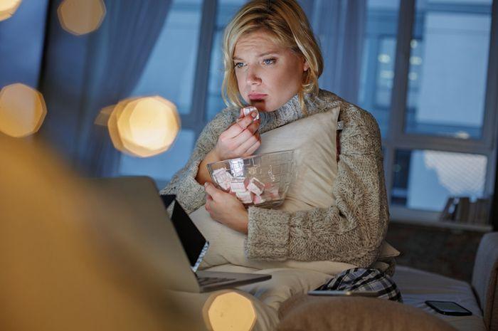 Beberapa orang melampiaskan stres dan emosinya dengan makan.