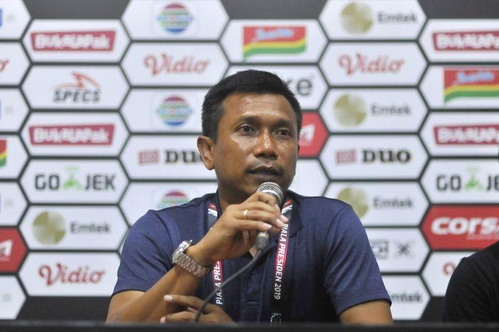 Pelatih Persita Tangerang, Widodo Cahyono Putro.