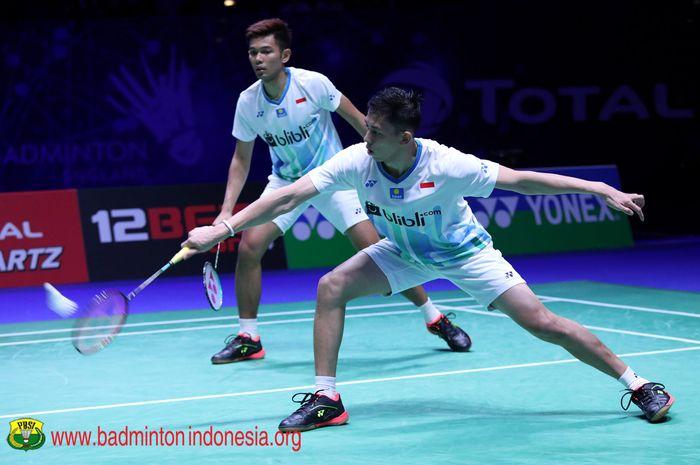 Ganda putra Indonesia, Fajar Alfian/Muhammad Rian Ardianto.