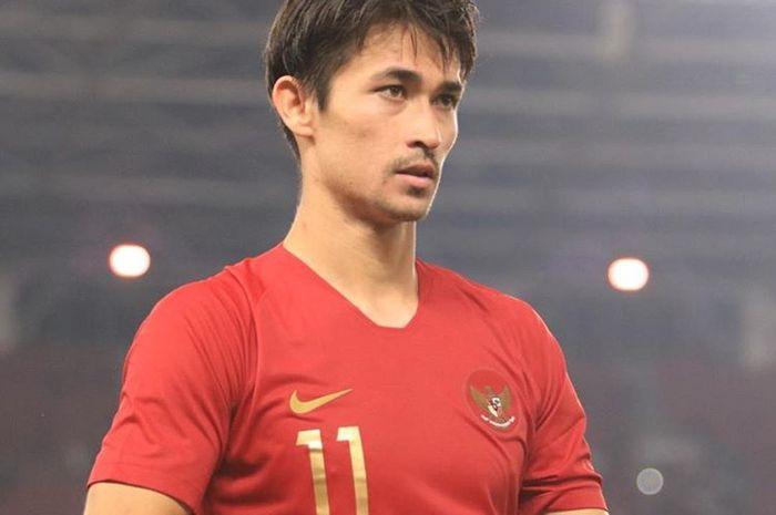Gavin Kwan Adsit ketika membela timnas U-23 Indonesia di Asian Games 2018.