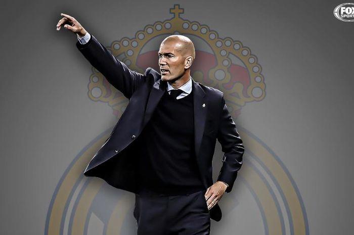 Sempat inginkan Jose Mourinho, Zinedine Zidane resmi ditunjuk kembali melatih Real Madrid, Senin (11/3/2019).