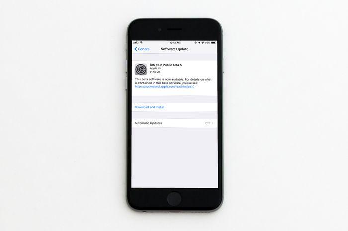 Apple Merilis iOS 12.2 Beta 5 untuk Developer dan Public Beta