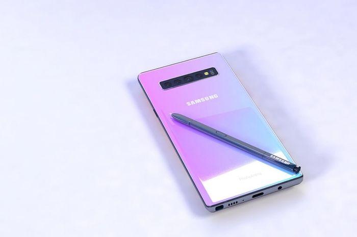 Bocoran Desain dan Fitur Galaxy Note 10