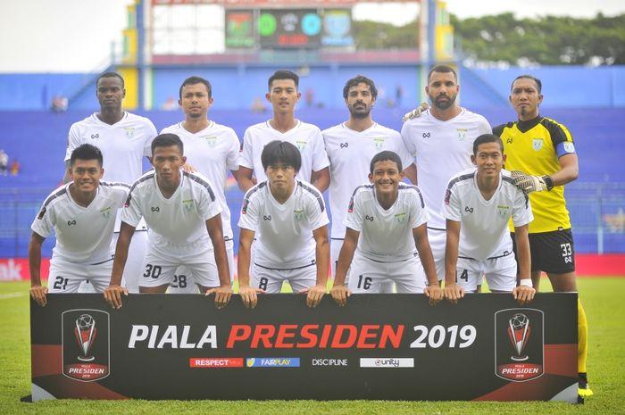 Skuat Persela Lamongan di Piala Presiden 2019.