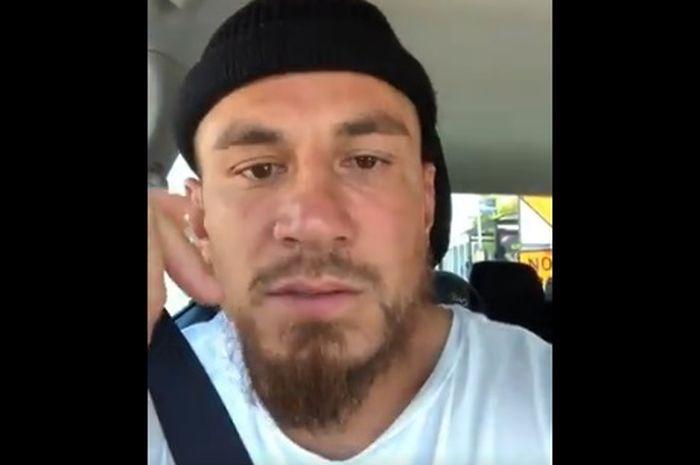 Pemain rugby Sonny Bill Williams mengucapkan belasungkawa pada korban penembakan.