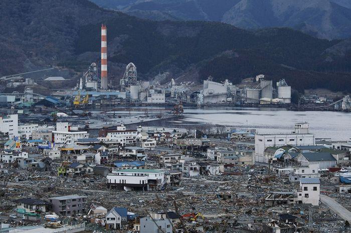 Gempa dan tsunami besar pada 2011 menyebabkan bencana nuklir Fukushima.