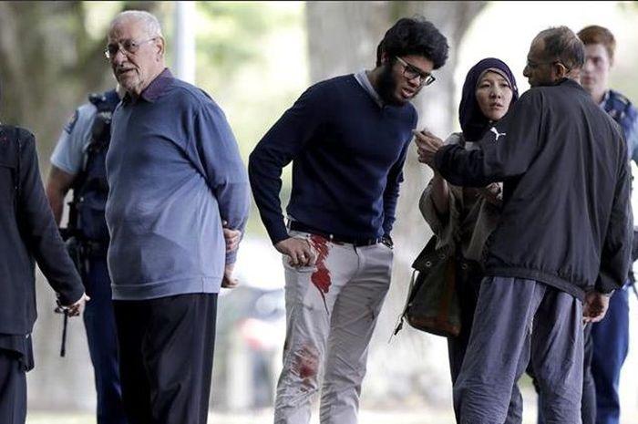 Pelaku Penembakan Masjid Selandia Baru: Anak Muda Pemberani Coba Rebut Senjata Pelaku Penembakan