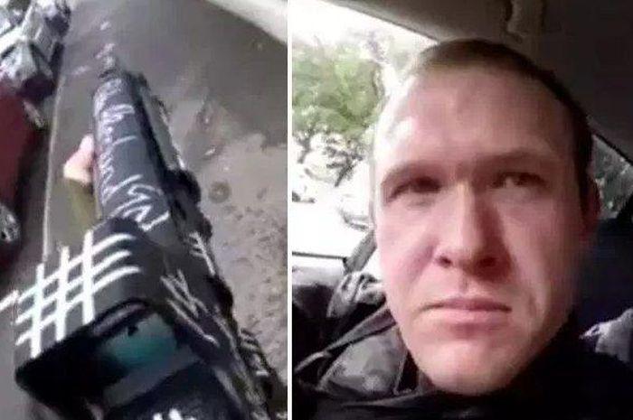 Brenton Tarrant, pria biadab yang melakukan aksi penembakan brutal para jamaah Salat Jumat di Selandia Baru.