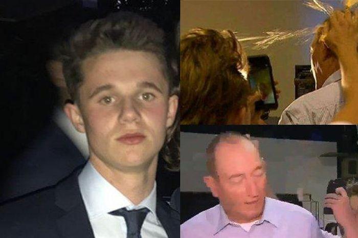 Will Connolly remaja yang memecahkan telur di kepala senator Australia.