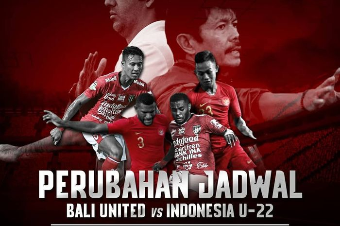Live streaming timnas U-23 Indonesia vs Bali United