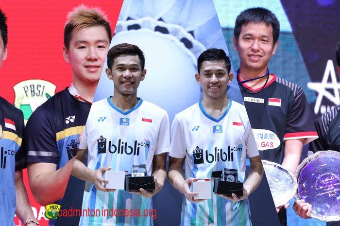 Atlet Bulu Tangkis Ganda Putra Indonesia