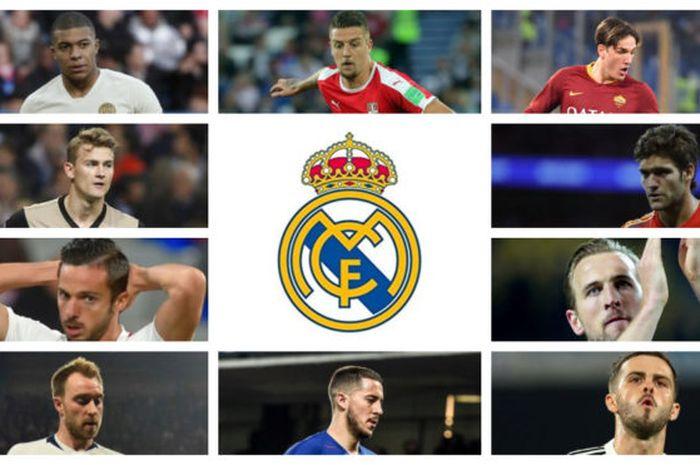 Real Madrid Sudah Siapkan Target Transfer Dari Bek Hingga Striker