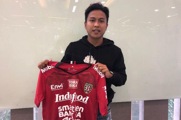 Pemain asal Pasuruan, Fahmi Al Ayyubi, akan segera bergabung dengan Bali United pada musim 2019.