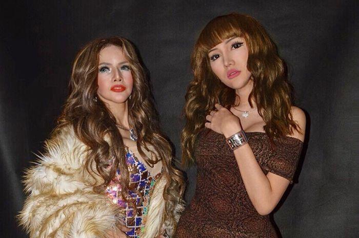 Lucinta Luna dan Barbie Kumalasari