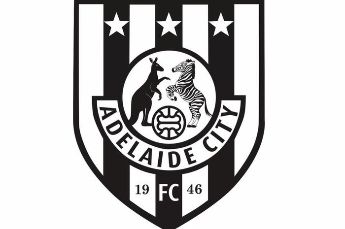 Logo Adelaide City, klub anggota South Australia National Premiel League.