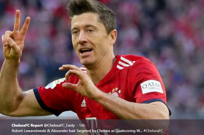 Striker Bayer Muenchen, Robert Lewandowski