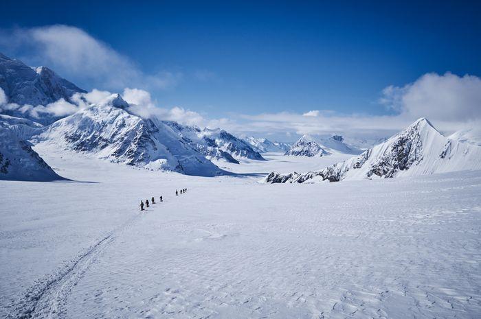 Gunung Denali.