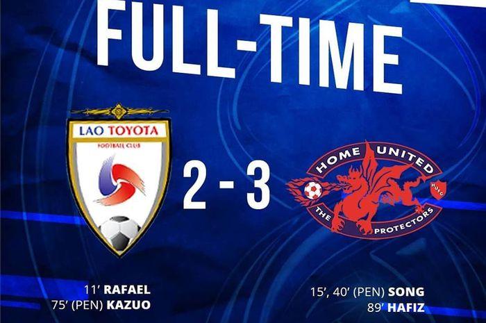 Lao Toyota vs Home United