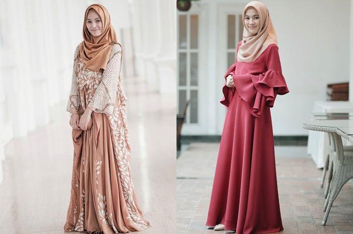 Tips Modis Lebaran Model Baju Gamis Terbaru Untuk Lebaran 2019 Ala Alyssa Soebandono Semua Halaman Stylo