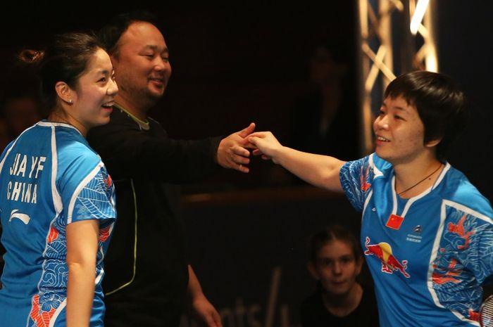 Chen Qingchen (kanan) dan Jia Yifan.