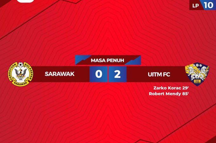 Sarawak FA vs UiTM FC